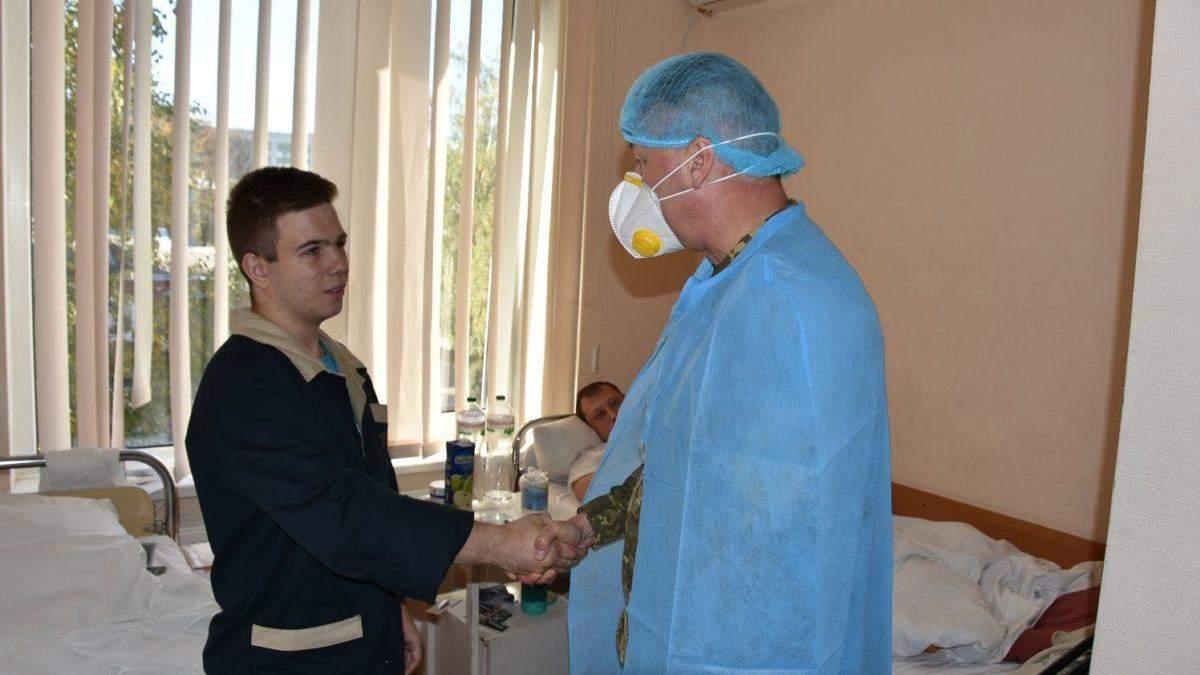 В'ячеслав Золочевський отримав медаль та поділився планами