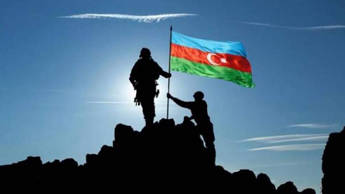 Азербайджан розширив контрольовану територію в Карабасі 15 жовтня 2020