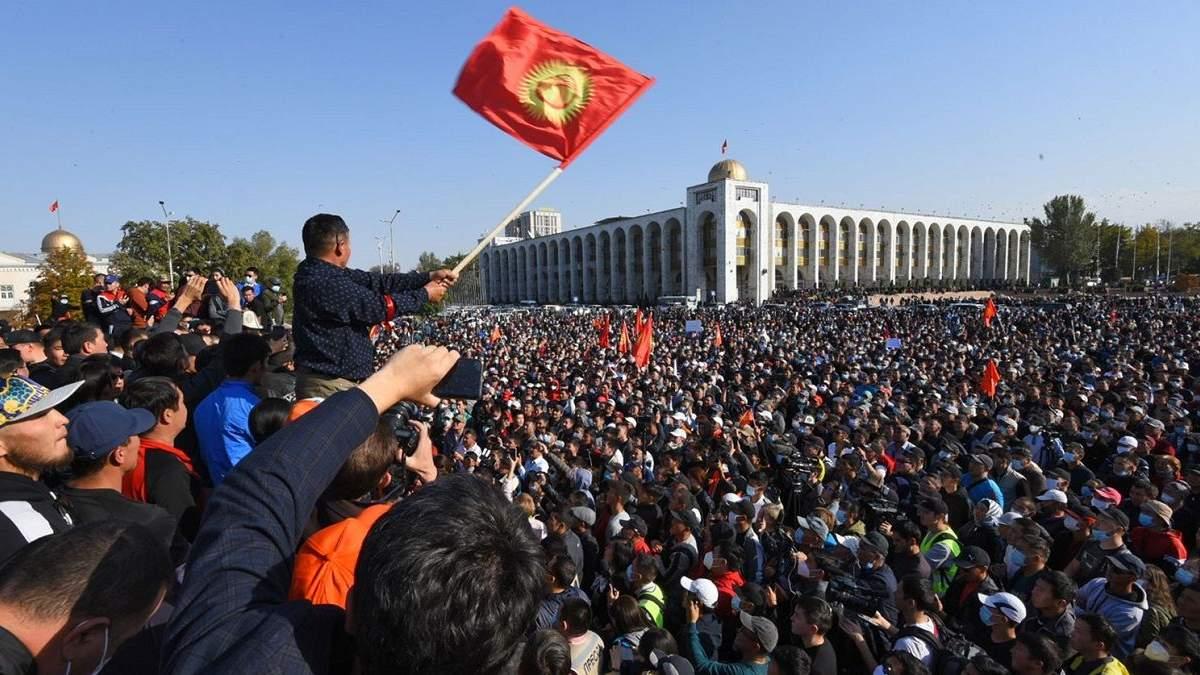 У Киргизстані назвали дати післяпротестних виборів