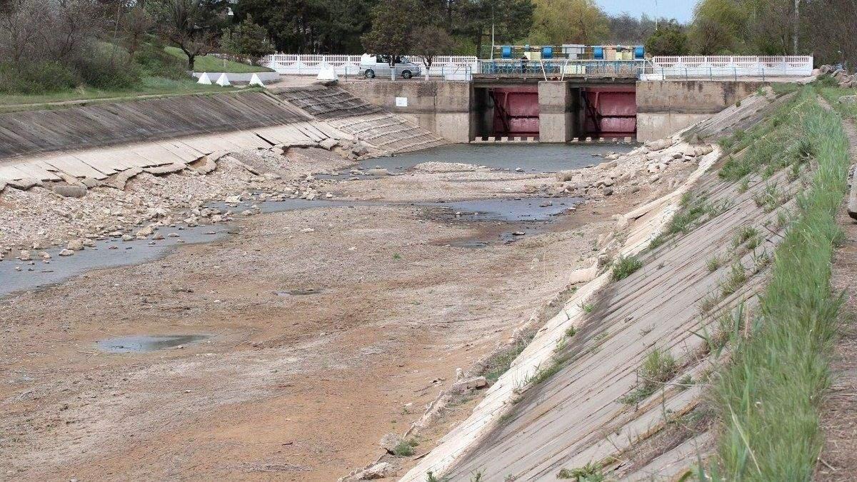 Скільки води залишилось у водосховищах Криму
