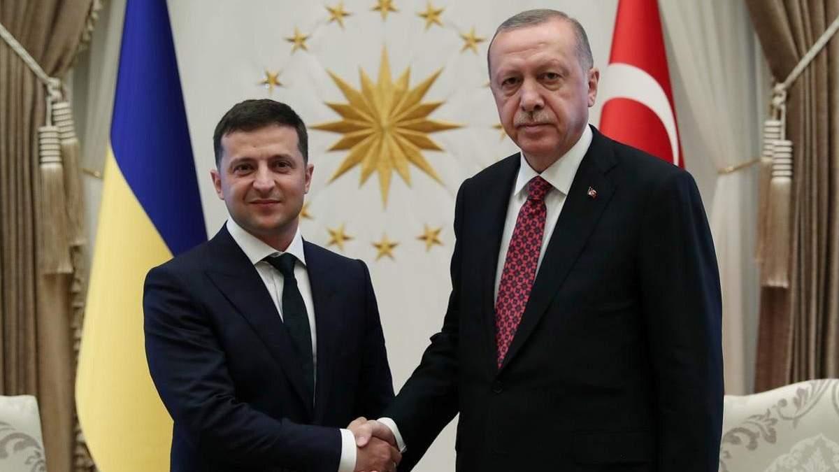 Встреча Зеленского и Эрдогана 16 октября 2020: о чем военное соглашение