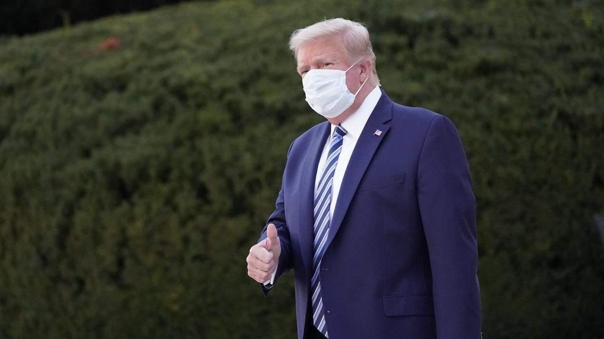 Трамп забыл, делали ли ему обязательный тест на COVID-19 до дебатов