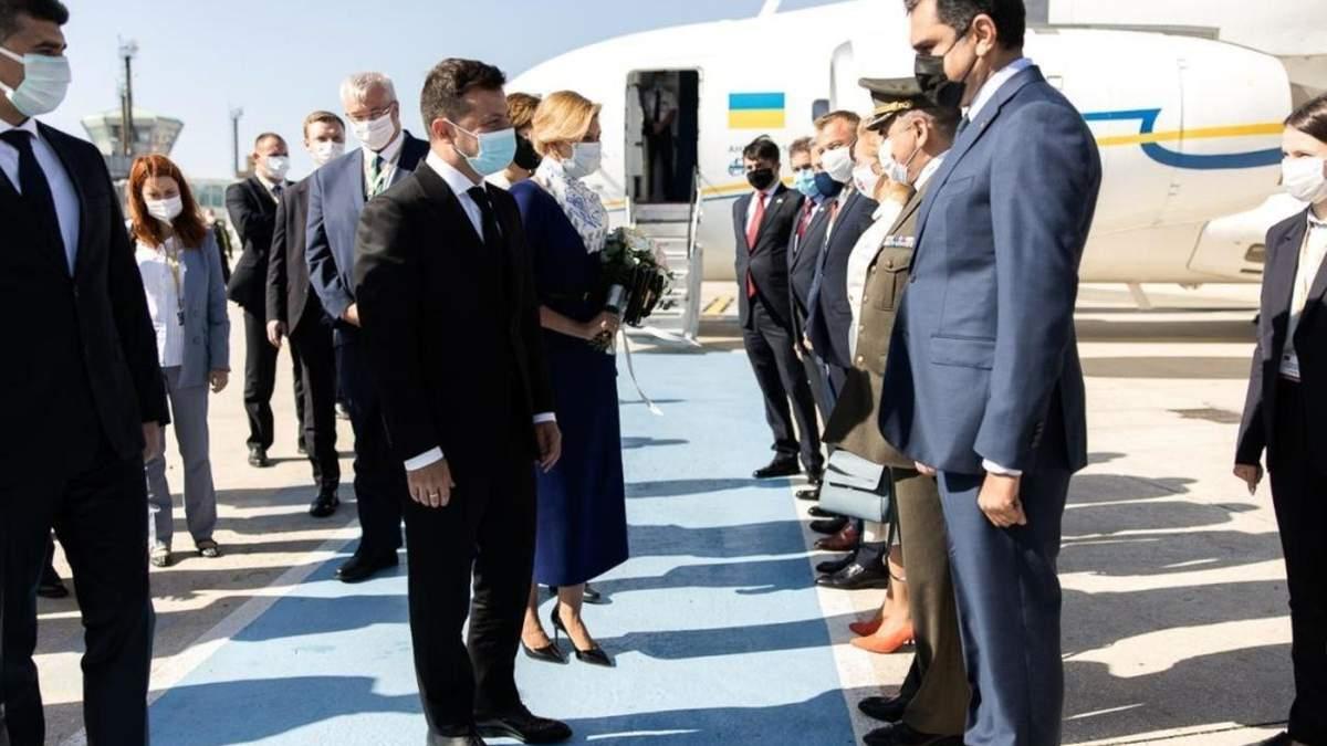 Президент Володимир Зеленський перебуває з офіційним візитом в Туреччині