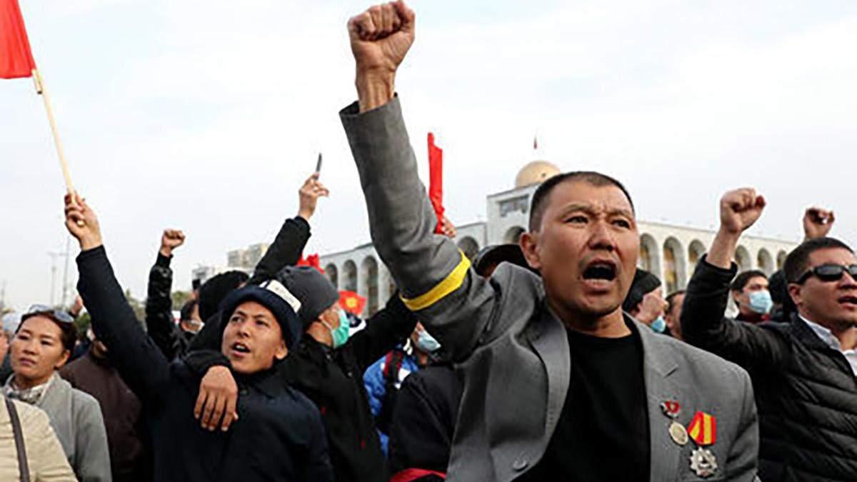 Парламент Киргизстану скасував режим надзвичайного стану у Бішкеку