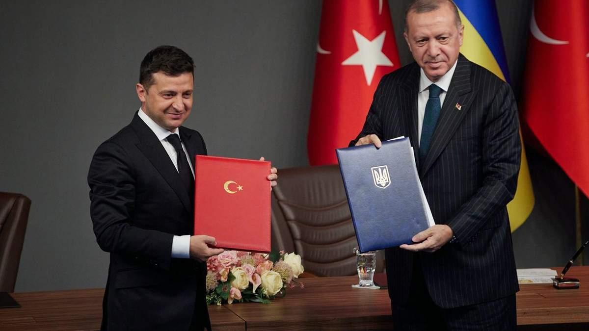 Зеленський підбив підсумки візиту до Туреччини