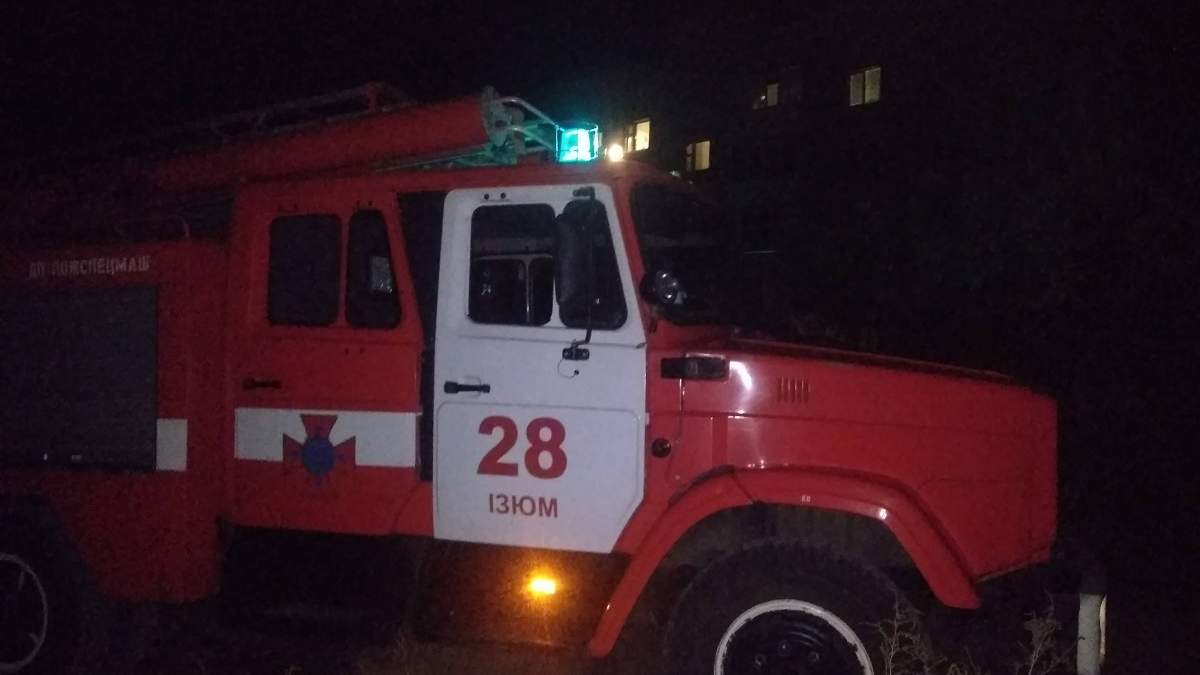 Пожежа у 5-поверхівці в Ізюмі 16.10.2020: є жертва – фото