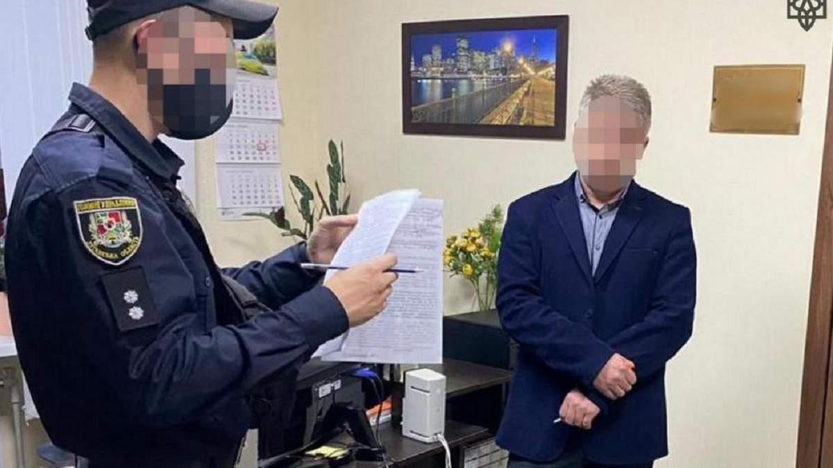 Первого заместителя мэра в Луганской поймали на взятке: фото