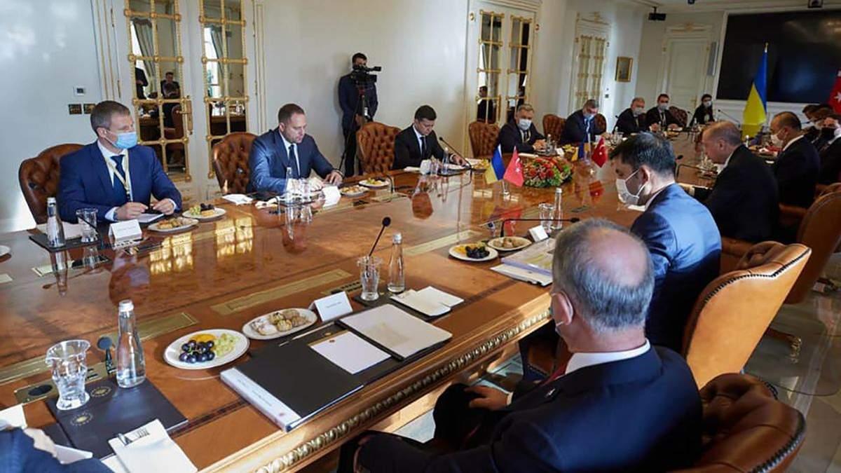 Руководитель ОПУ Андрей Ермак подвел итоги визита украинской делегации во главе с президентом Зеленским в Турцию
