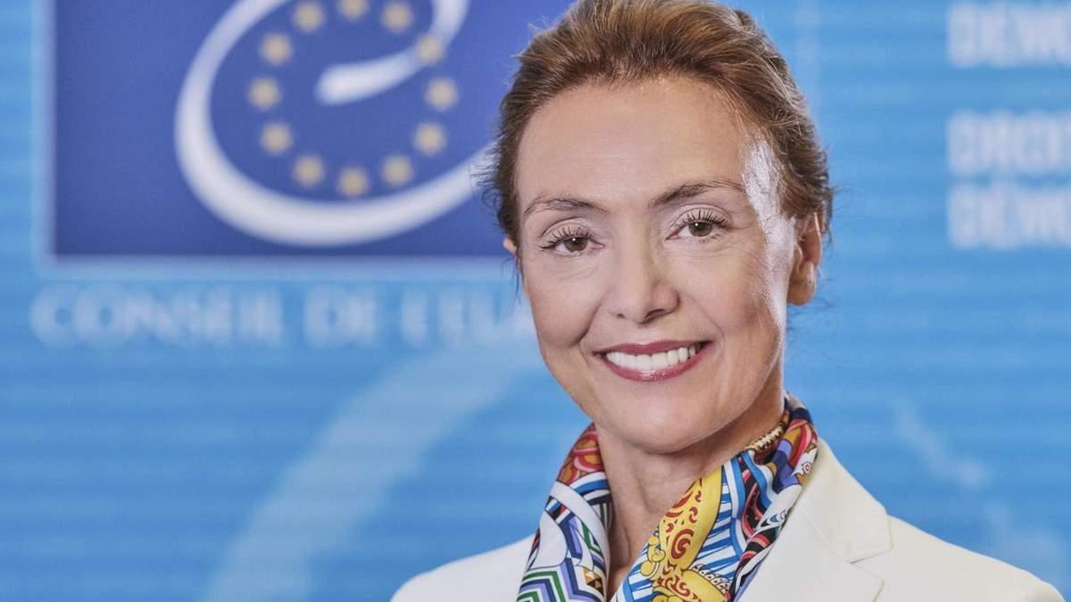 У МЗС попередили генсека Ради Європи Марію Пейчинович-Бурич напередодні її візиту до Москви