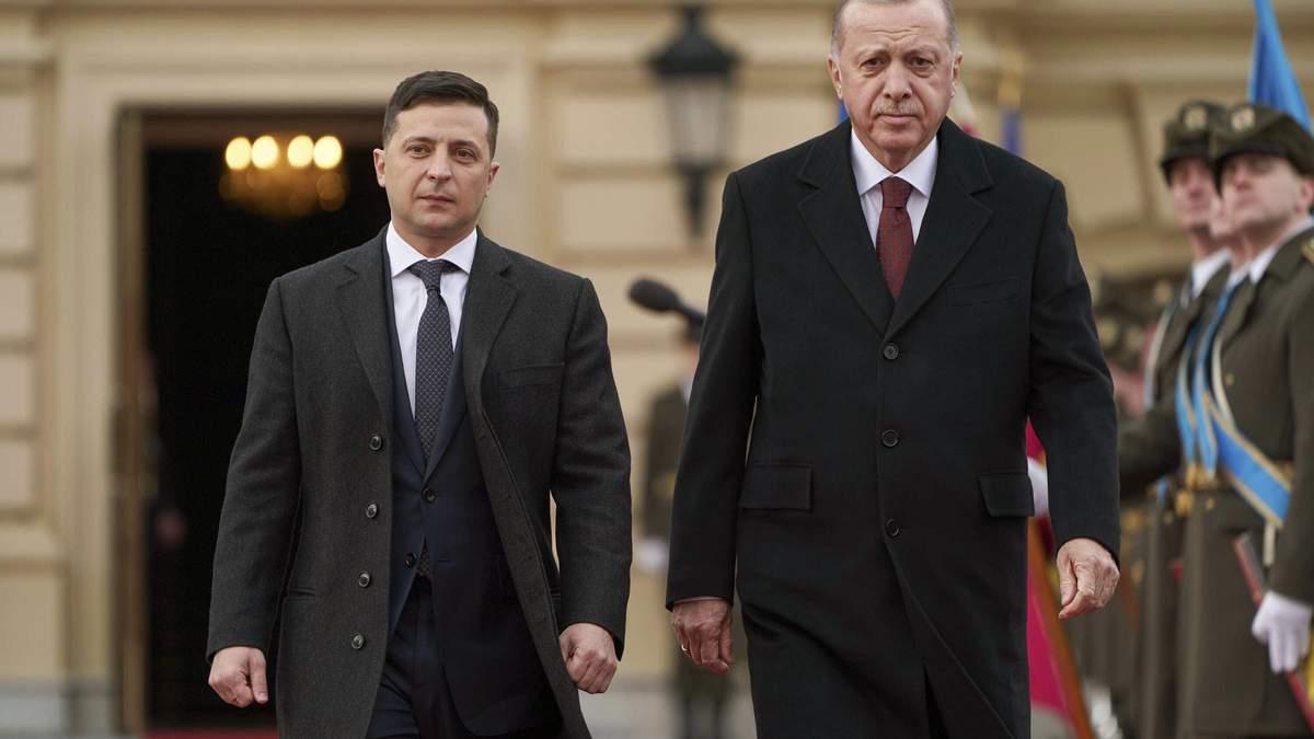 Про що говорив Зеленський з Ердоганом