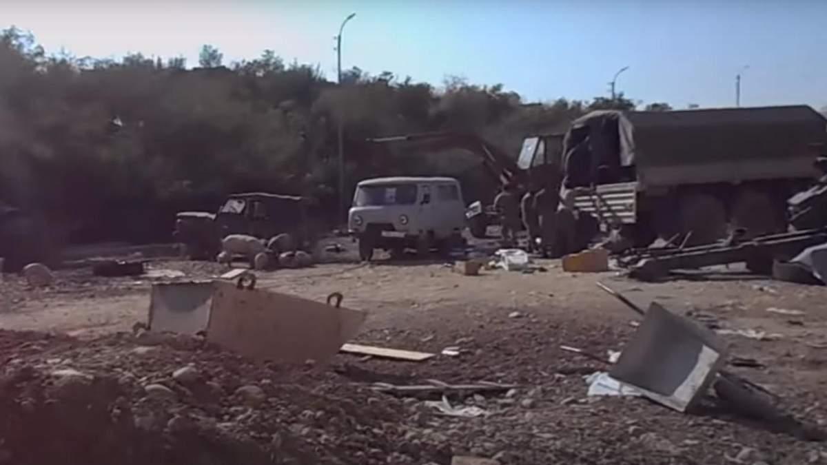 Азербайджан захватил военную часть Армении: появились видео