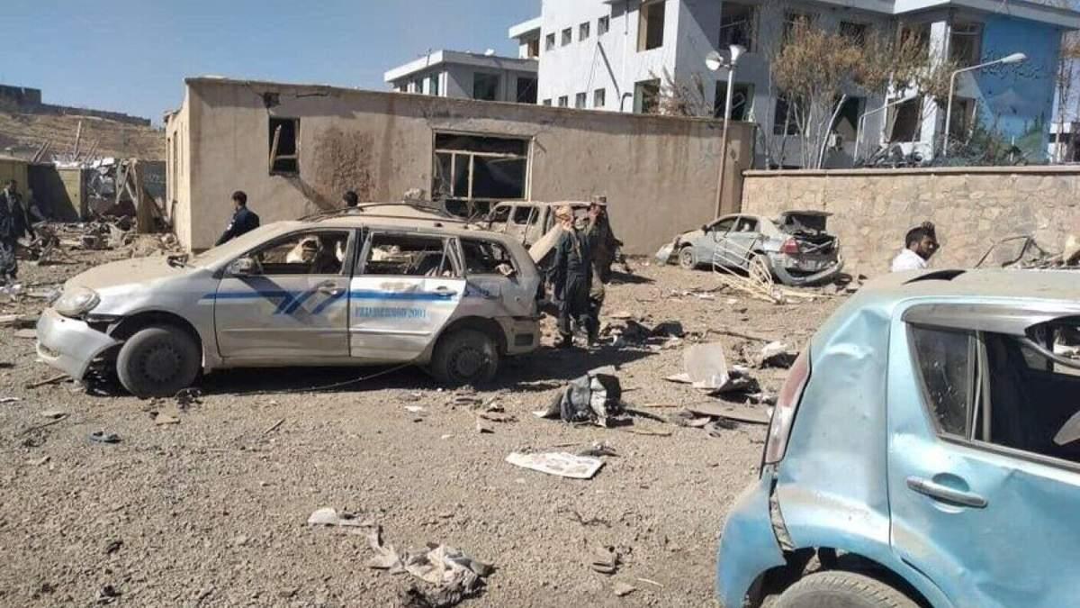 Теракт в Афганистане 18.10.2020: взорвали авто – фото, видео