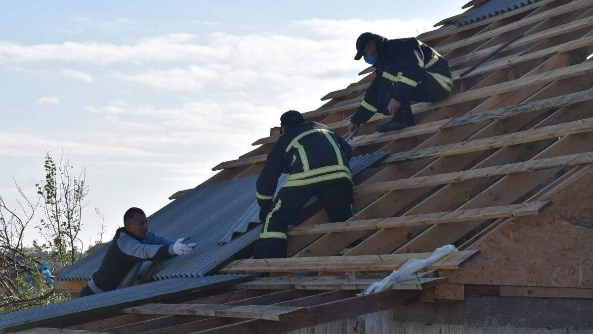 Негода у Кропивницькому пошкодила понад сотню будинків: фото, відео