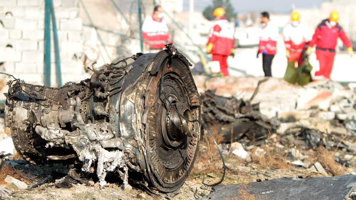 Катастрофа МАУ под Тегераном