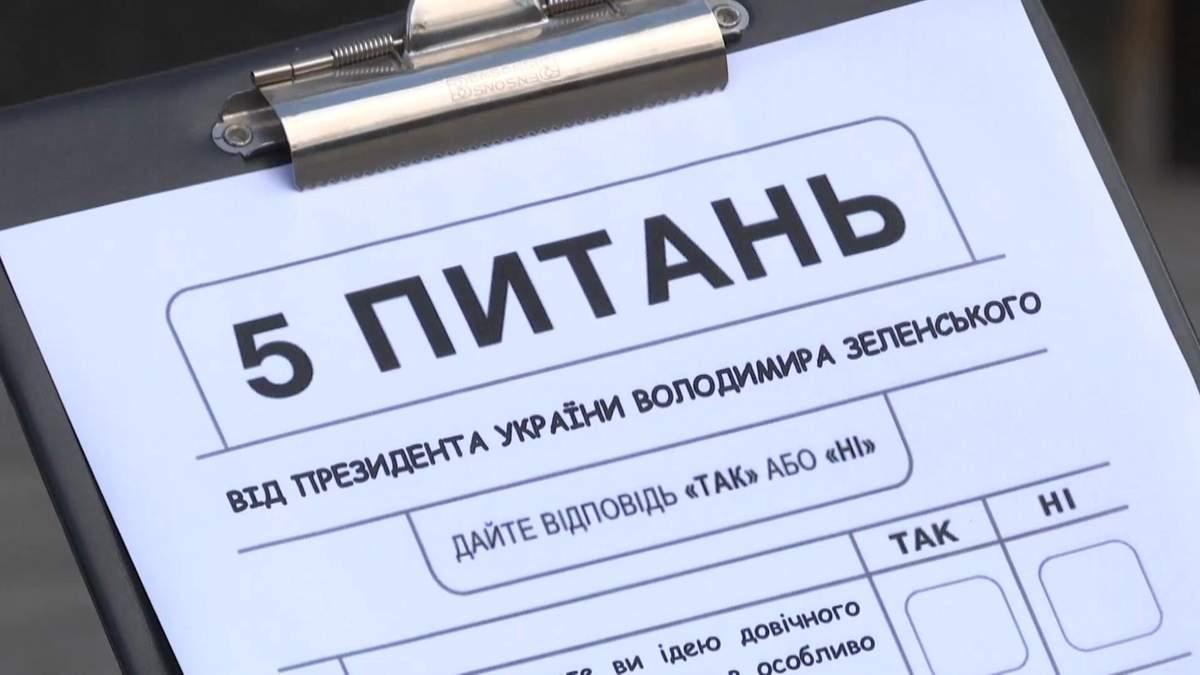 Опитування Зеленського: як відповіли б українці – відео