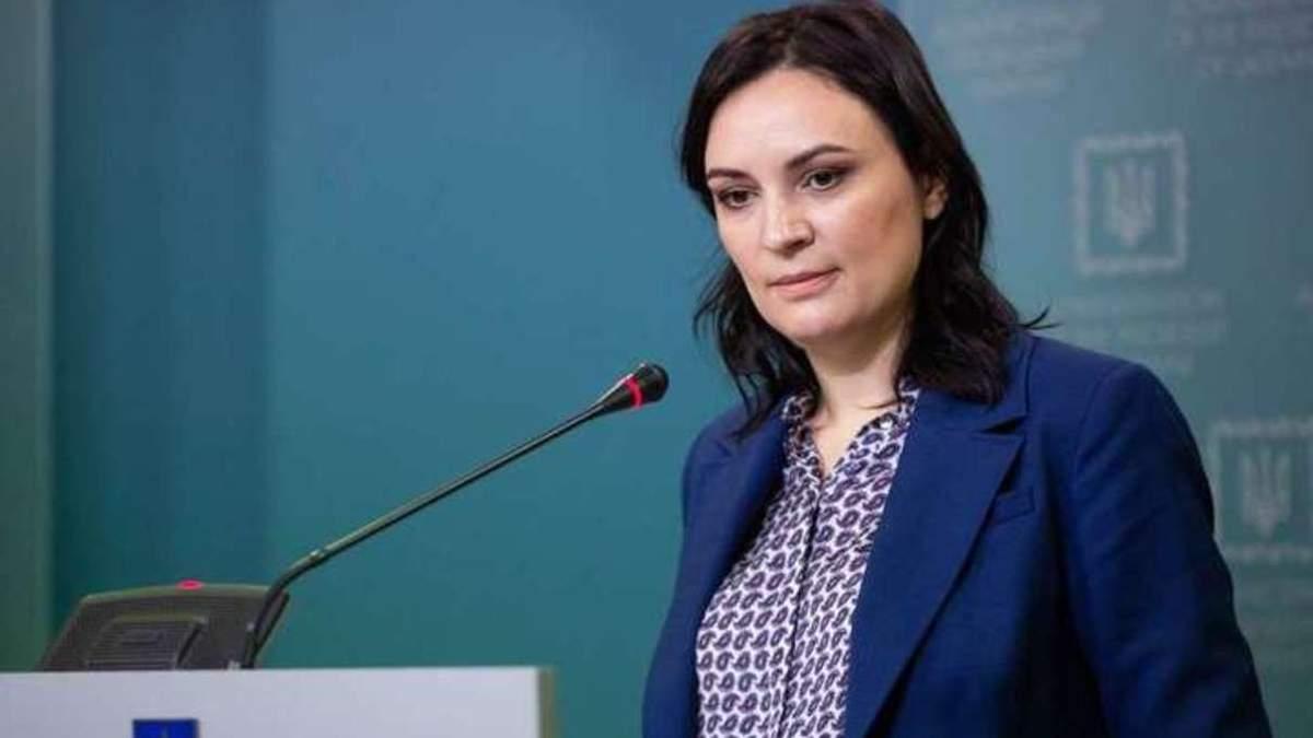 Заместитель руководителя Офиса Президента Юлия Ковалив