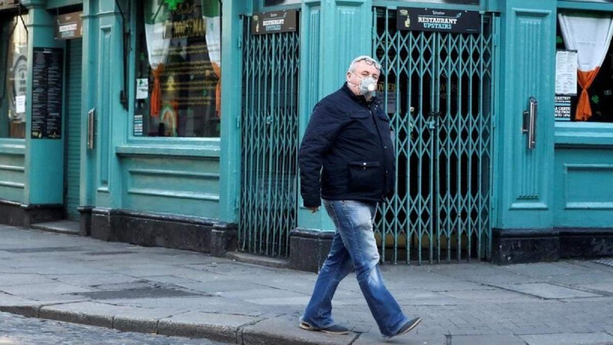Ірландія поновила жорсткий карантин