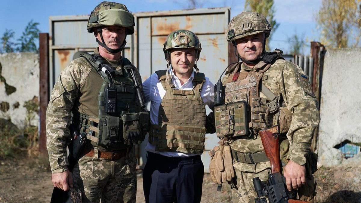 Зеленський похвалився, що його депутати відвідають військових на передовій