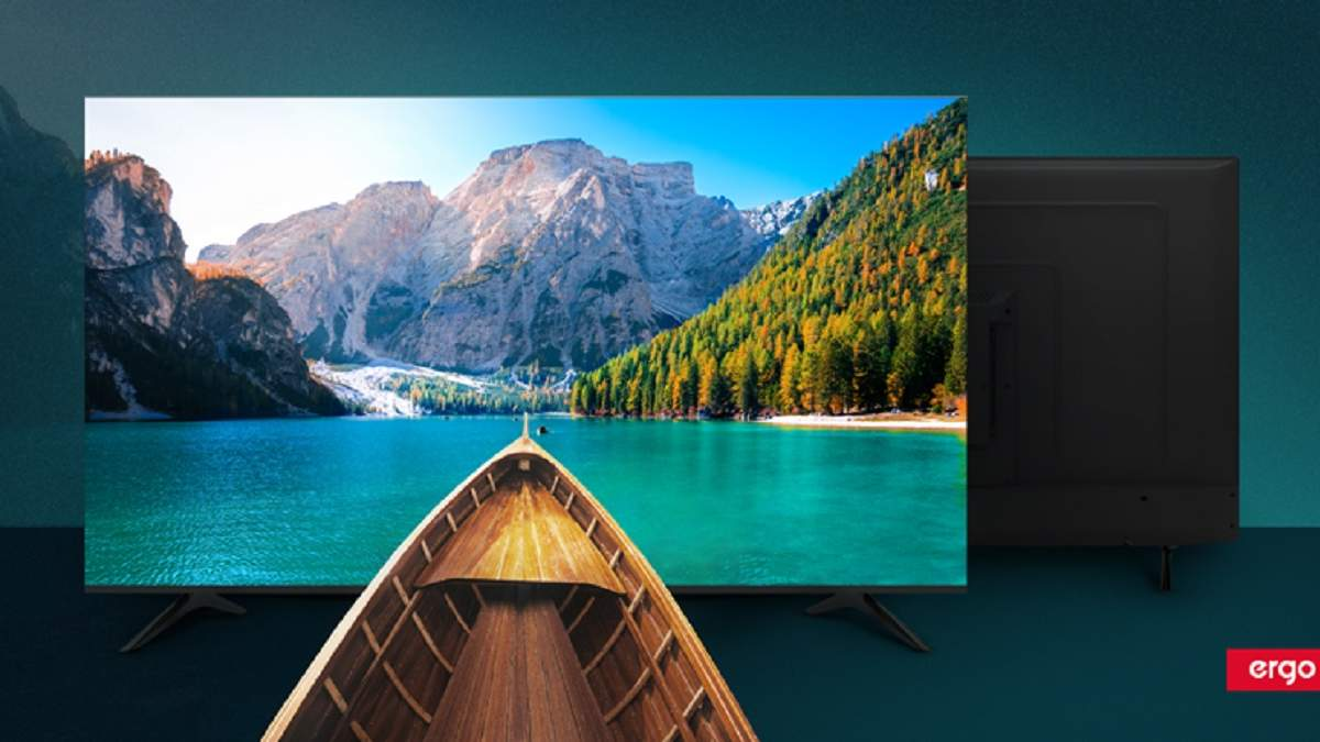 Нові моделі смарт-телевізорів ERGO