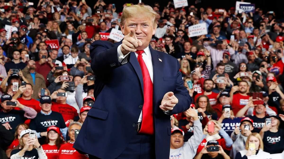 Дональд Трамп на виступі в Огайо