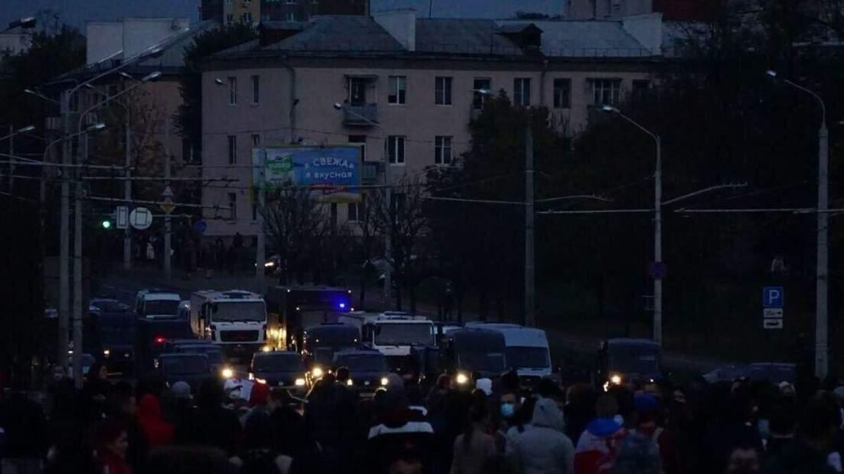 Протесты в Беларуси 25 октября 2020: новости, видео