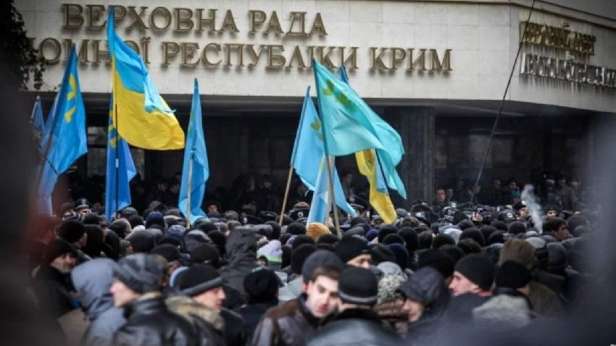 Сколько россиян переселили в Крым с 2014 года: данные МИД Украины