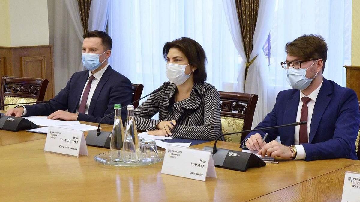Венедіктова скаржиться на низькі зарплати прокурорів: деталі