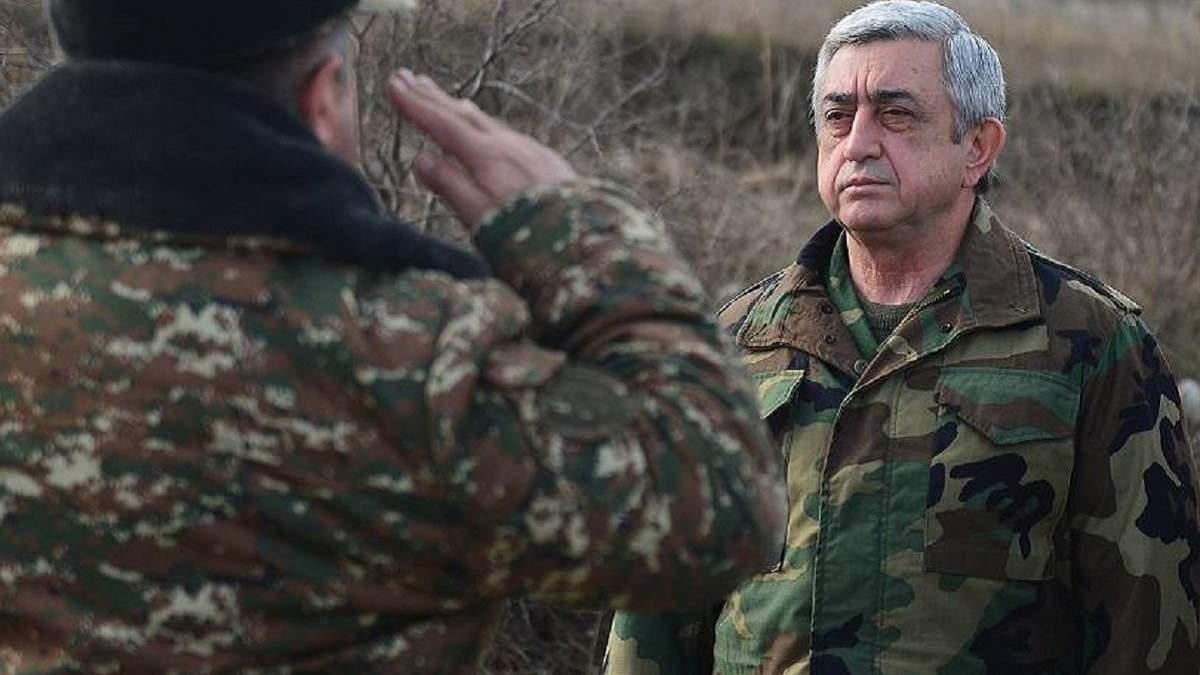 Война за Нагорный Карабах закончится только через переговоры - Саргсян