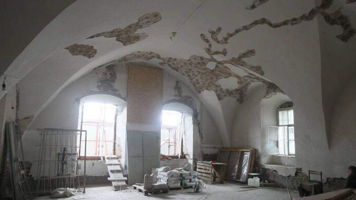 Корпус Мазепы в Могилянке находится под угрозой разрушения