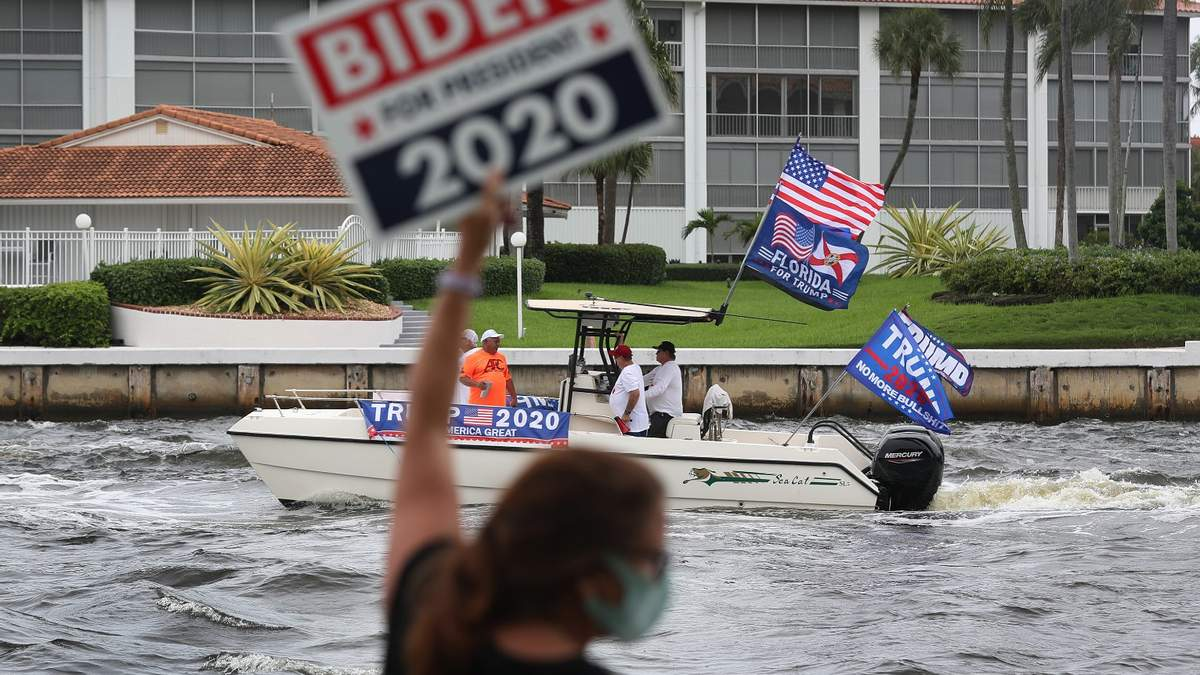 Агітація за кандидатів у Флориді