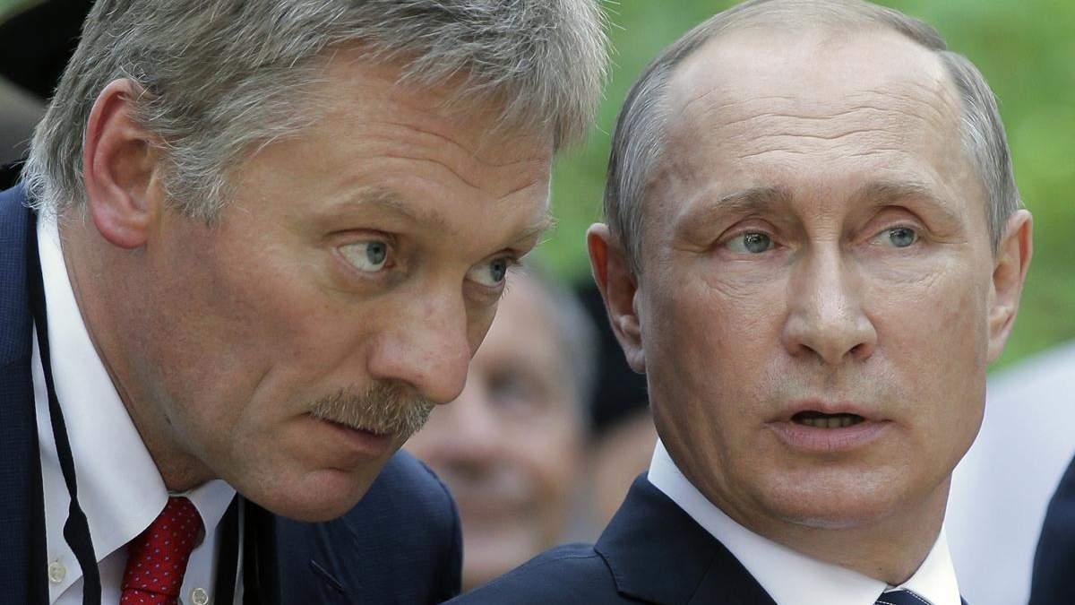 Росія здатна забезпечити Крим водою без України, – Пєсков