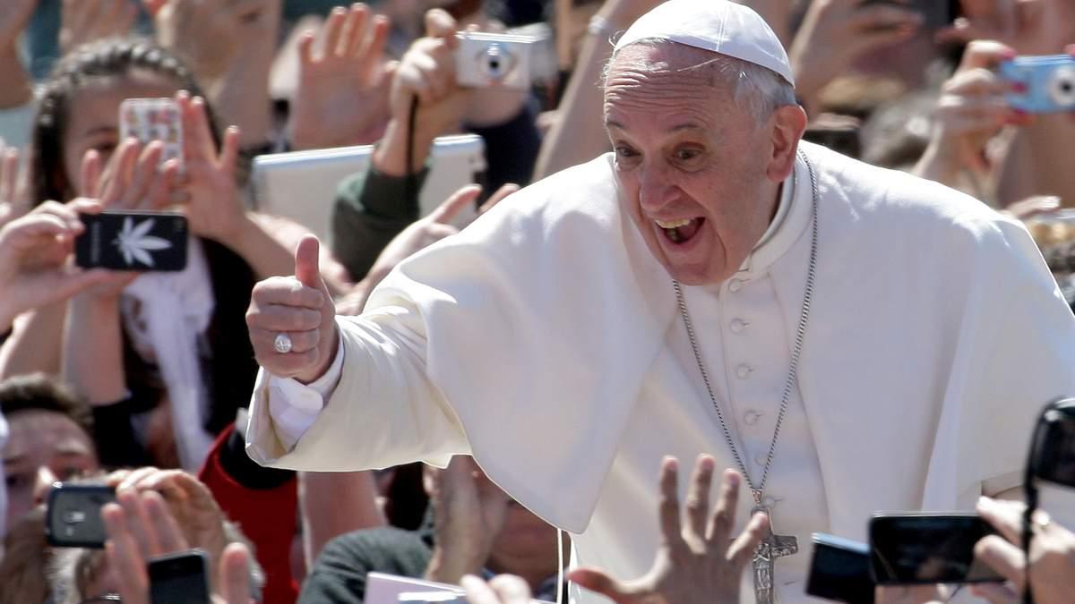 Папа Римський підтримав узаконення шлюбів гомосексуалів