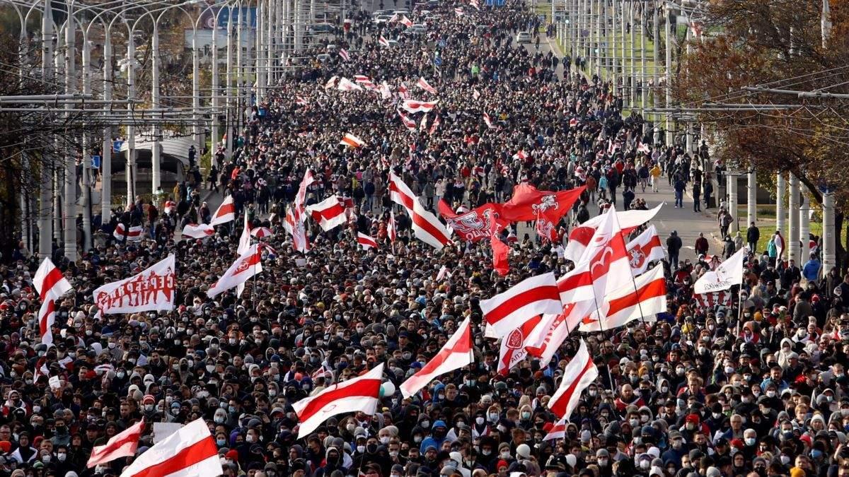 Оппозиция Беларуси получила премию Сахарова 2020 от Европарламента