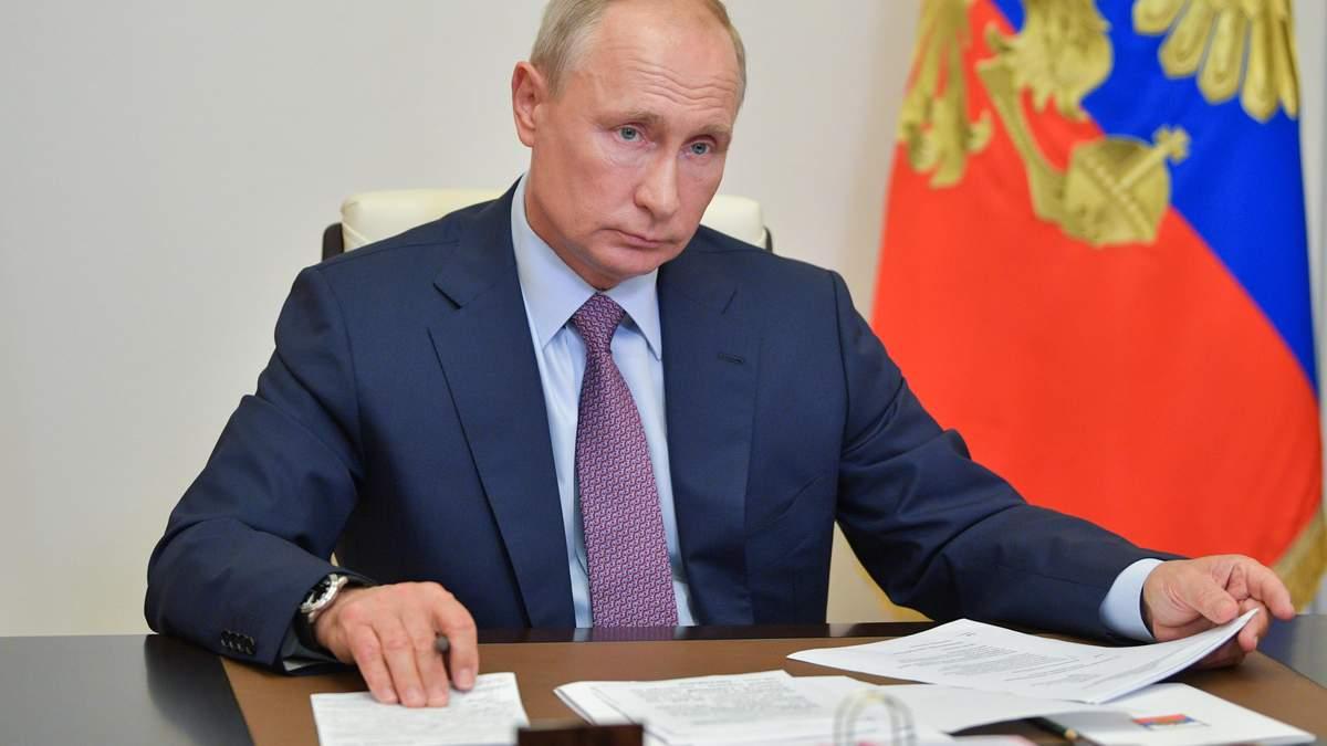 Володимир Путін заявив, що Росія не згасне