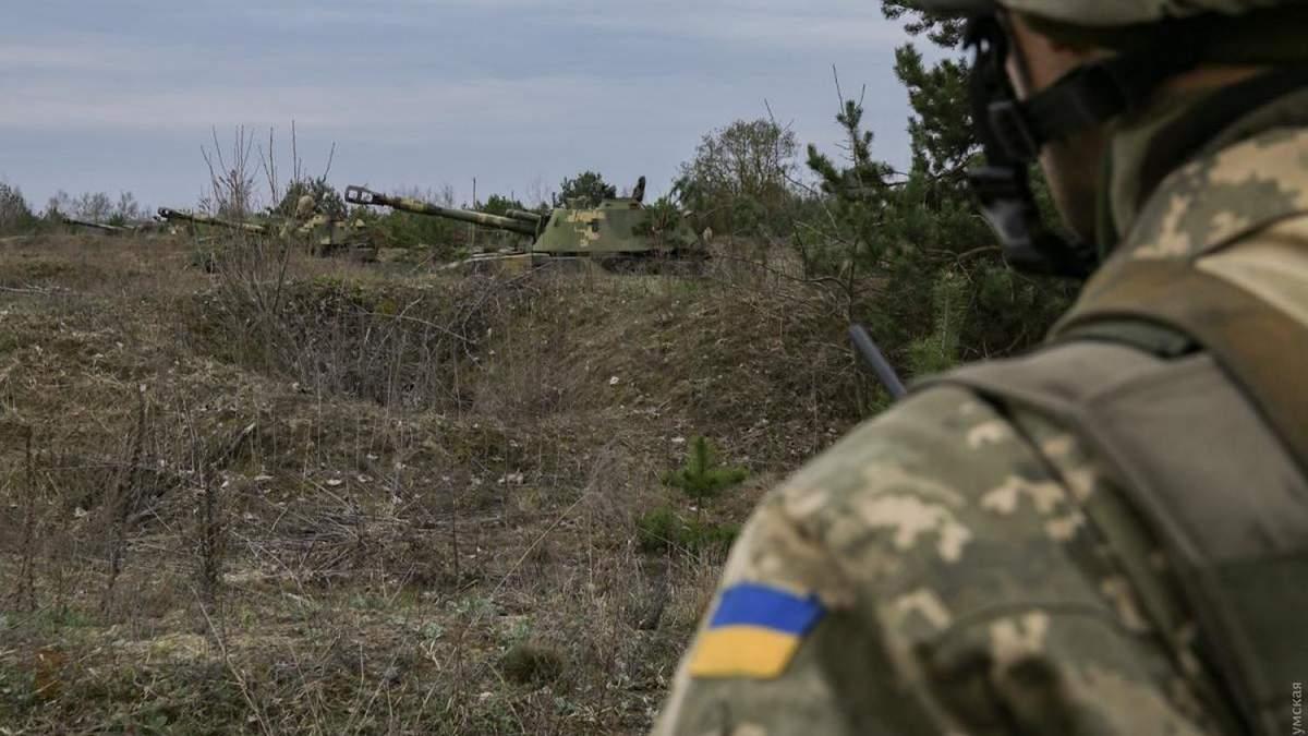 Проросійські бойовики знову обстріляли українські позиції