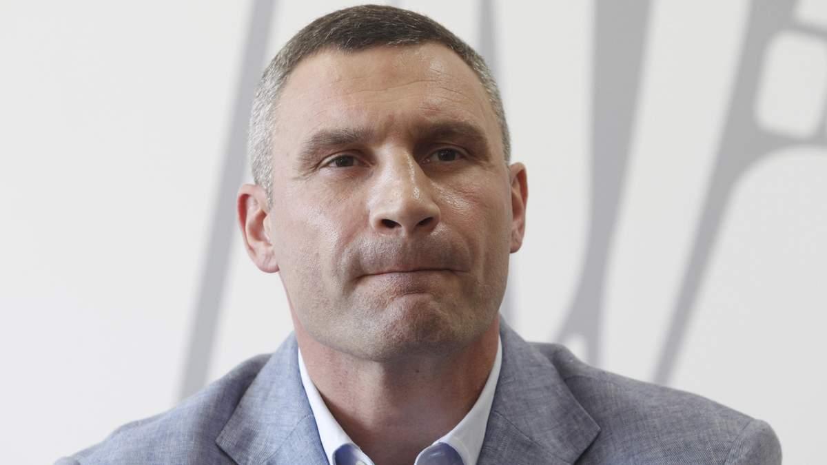 Мер Києва Кличко повідомив, що інфікувався коронавірусом