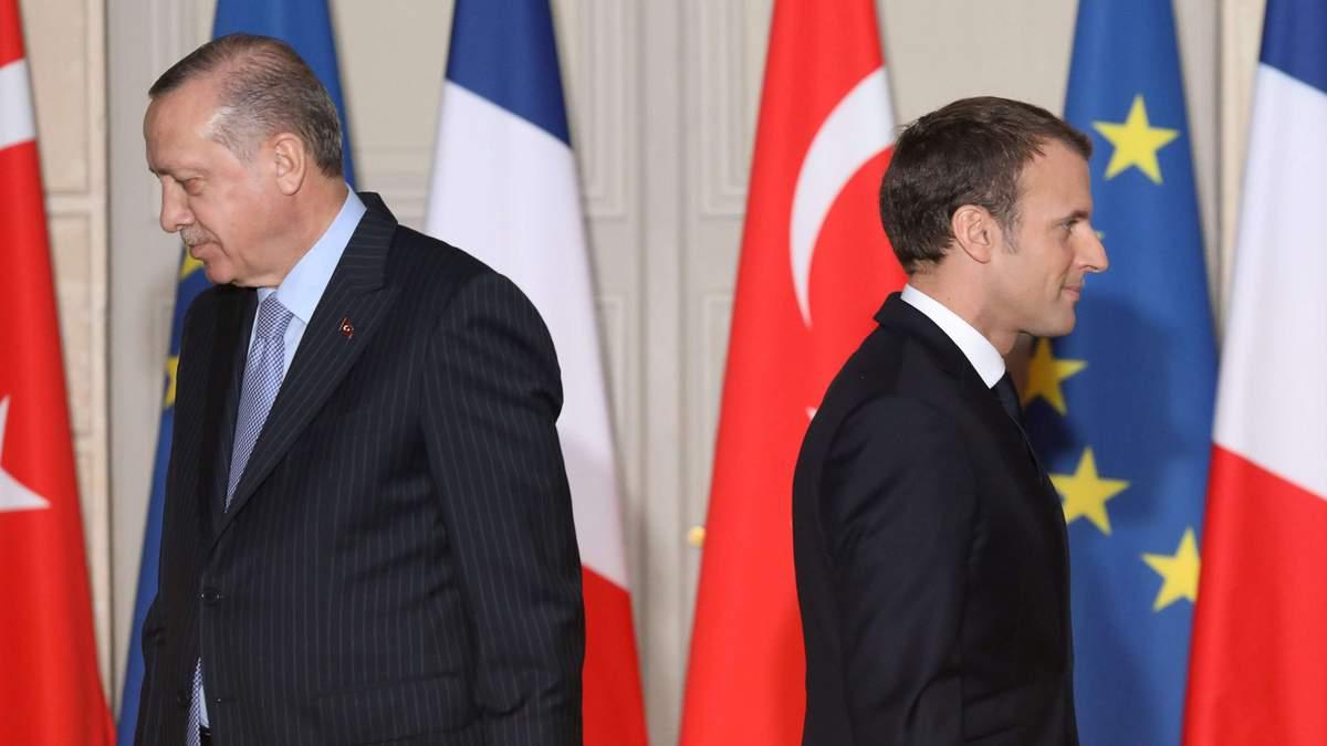 Ердоган порадив Макрону полікувати психіку