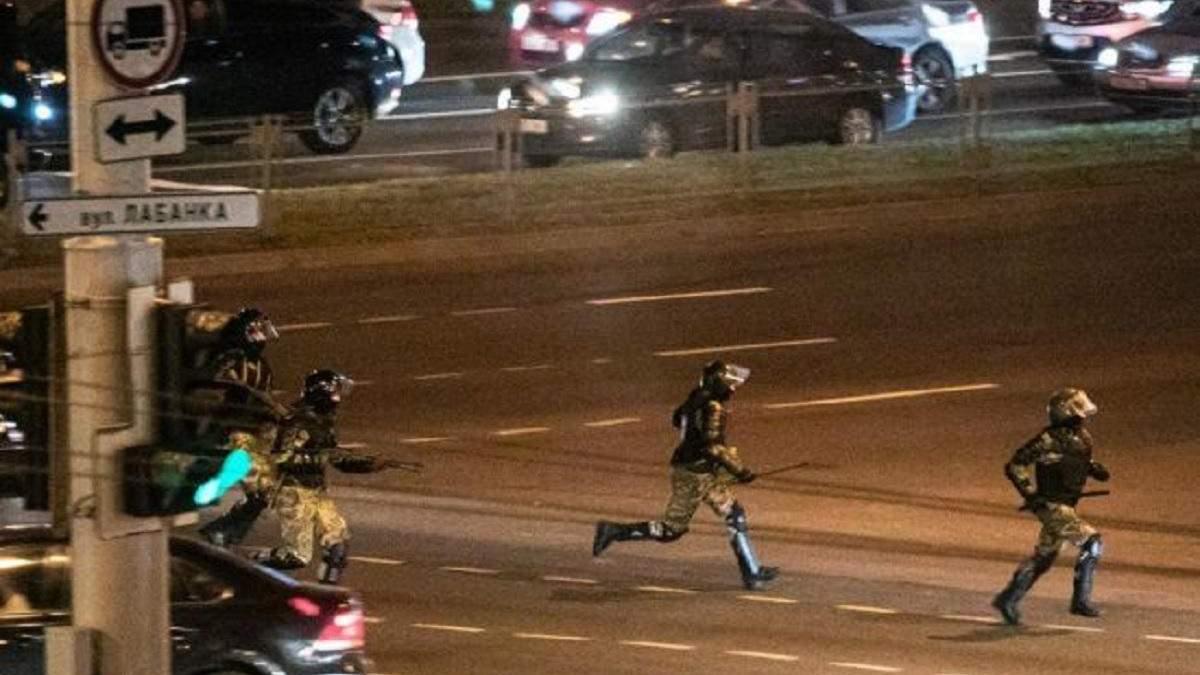 В Минске силовой разгон протестующих: есть раненый - видео