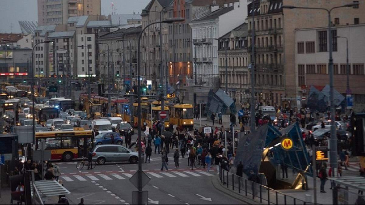 Протести в Польщі через заборону абортів: що відбувається 26 жовтня