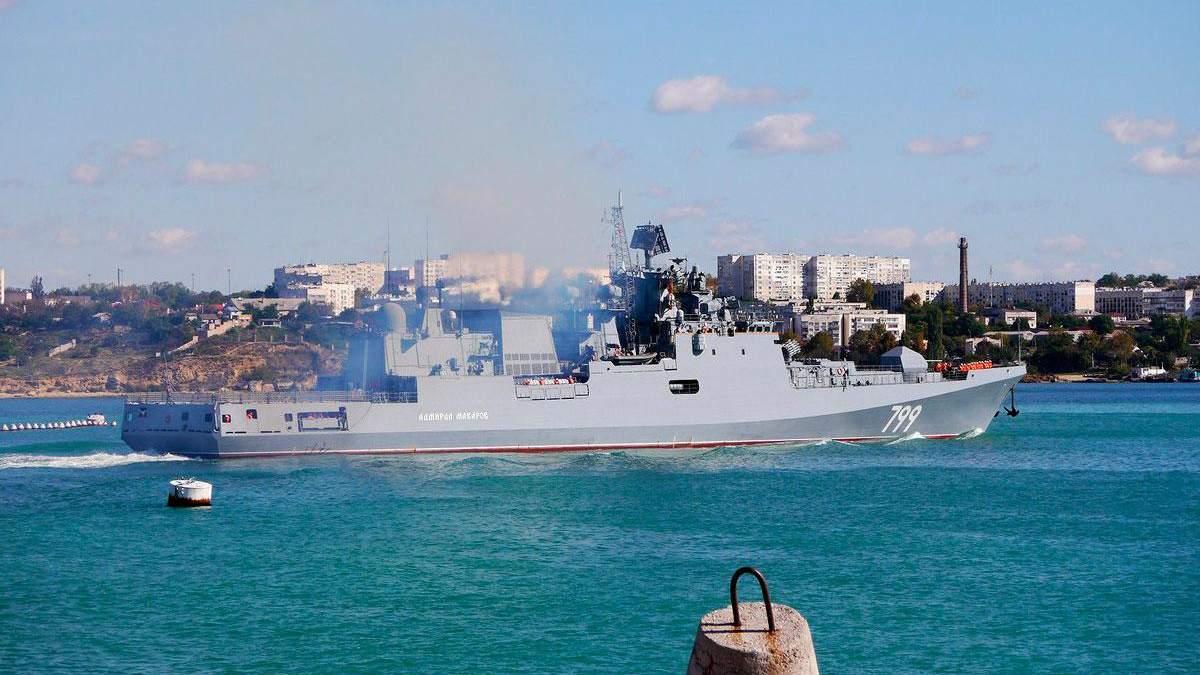 Военные учения РФ в оккупированном Крыму