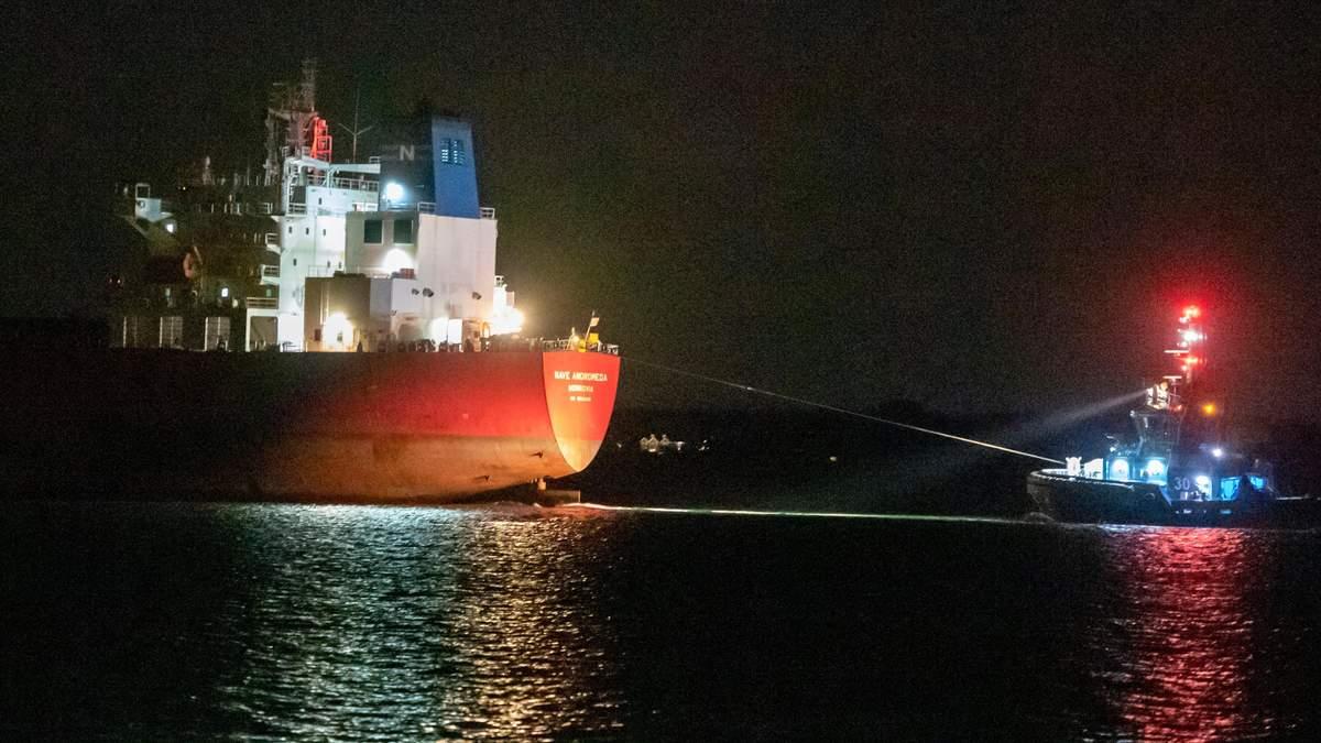 Нигерийские пираты захватили нефтяной танкер прямо у берегов Англии