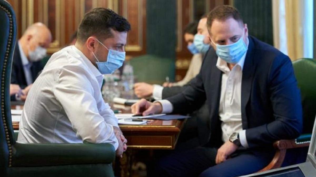 Зеленский и Ермак сдали тесты на коронавирус: какие результаты