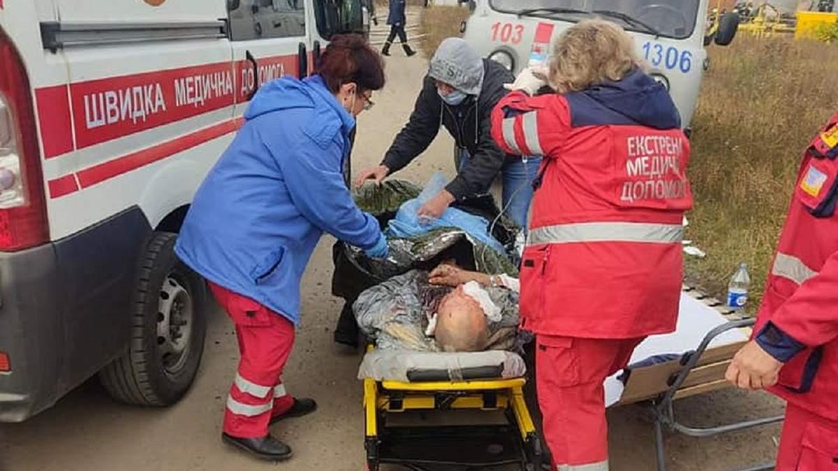 Взрыв газа на Харьковщине: что известно о состоянии пострадавших