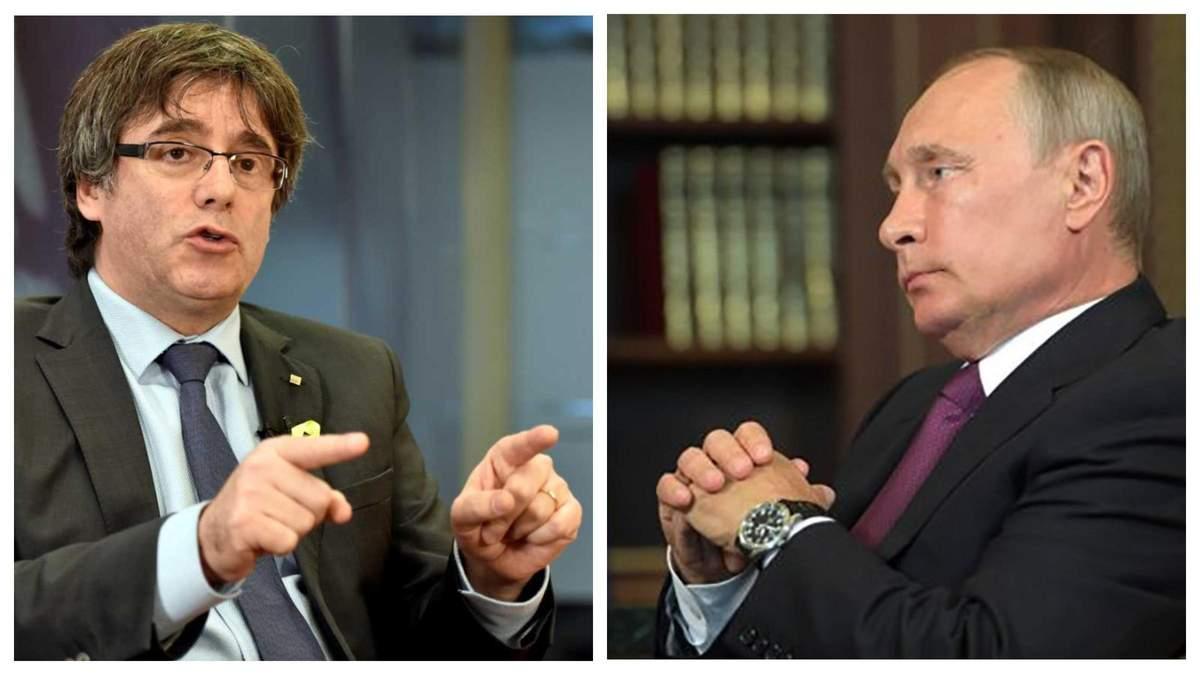 Россия подстрекала Каталонию на войну, обещала солдат и деньги, – СМИ