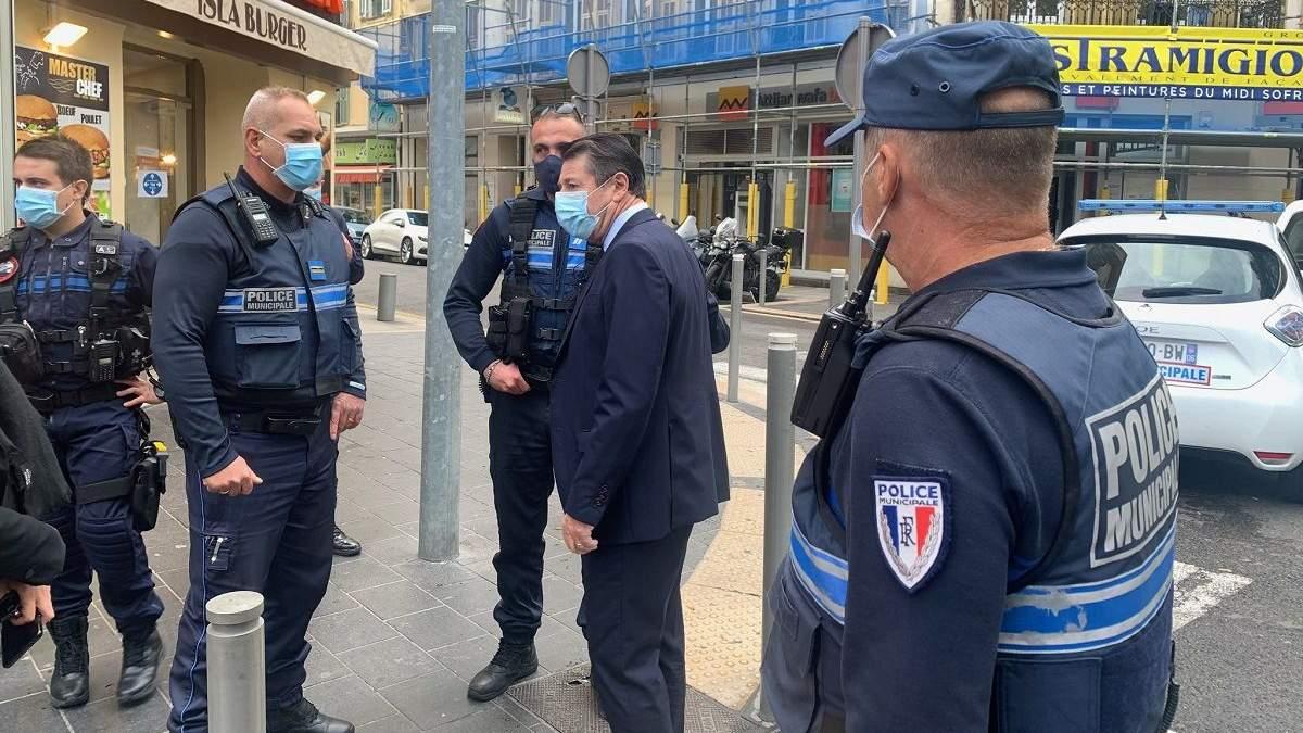 Террориста во Франции задержали: видео момента задержания