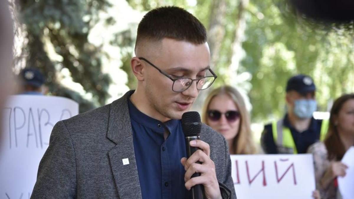 Как прошло заседание суда по делу активиста Стерненка