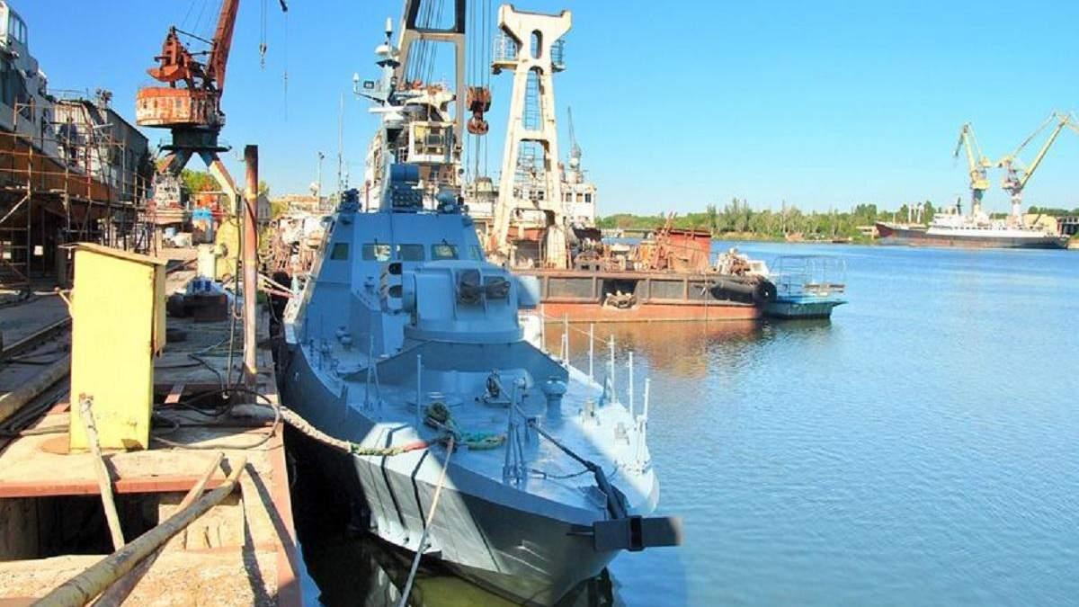 В Николаеве зремонтувалы катер Бердянск: он был в плену РФ