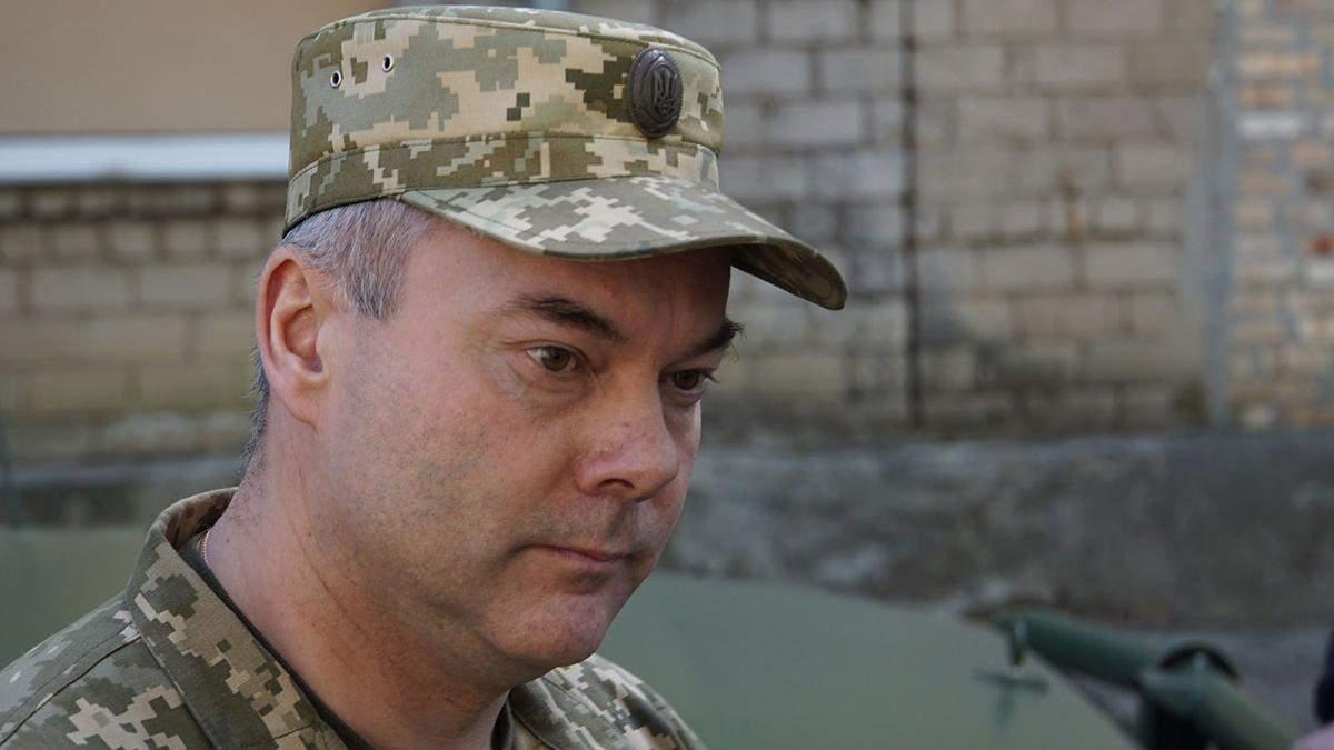 Командующий ООС уверен, что боевики не хотят мира на Донбассе
