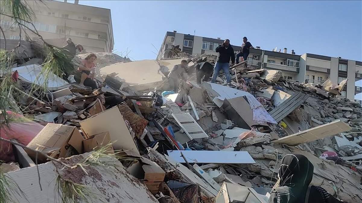 Землетрус в Ізмірі 30 жовтня 2020: число жертв у Туреччині