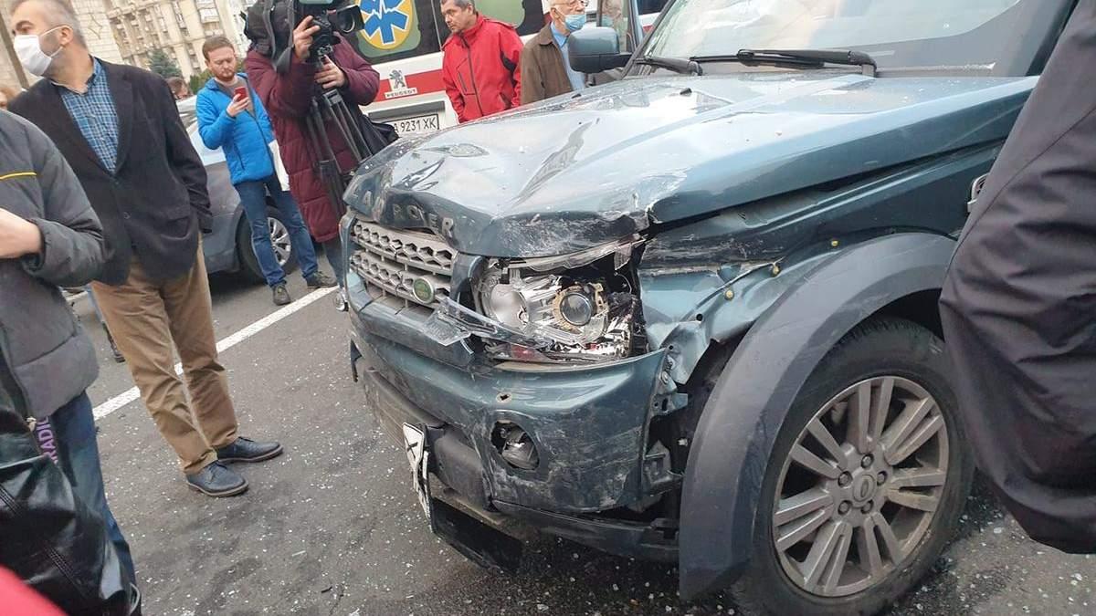 ДТП на Майдане 30 октября 2020: жертвы и видео аварии